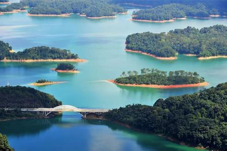 广州从化团建旅游,流溪河青山绿水,犹如仙境  |  旅游团建系列